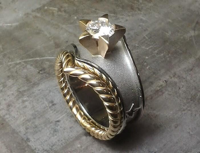 wonder woman custom designed ring - Ring Design Ideas